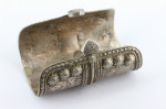 Solid Silver OLOMI Turkoman Afghanistan 132g Collectible Cuff