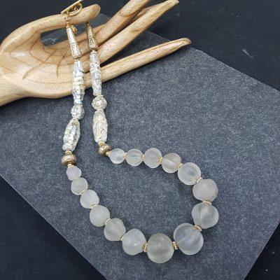 Himalayan Rock Crystal necklace