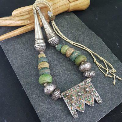 Moroccan Tiznit Hebron Necklace