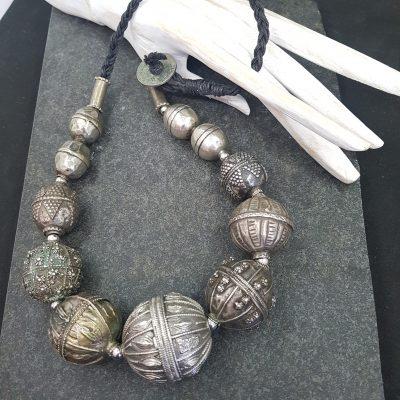 Rare Yemen Silver Beads