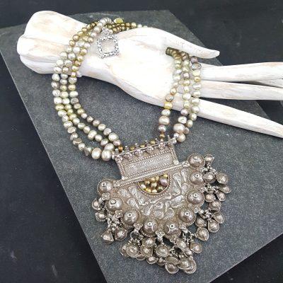 Gujarati Pendant necklace
